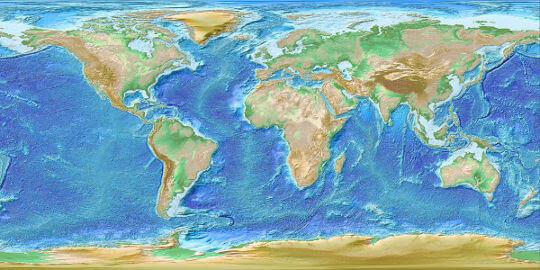 IGFS Gravity Map